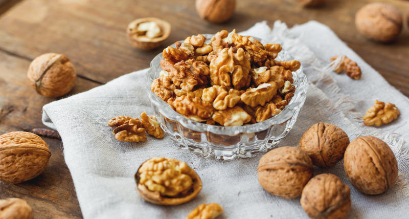 Walnuts are easy to add into your diet.