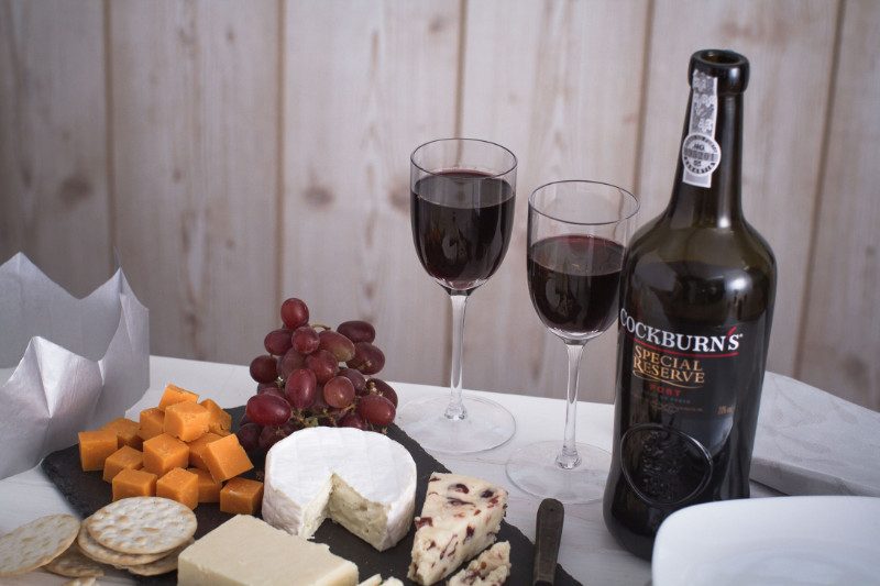 Vintage port explained port with cheese