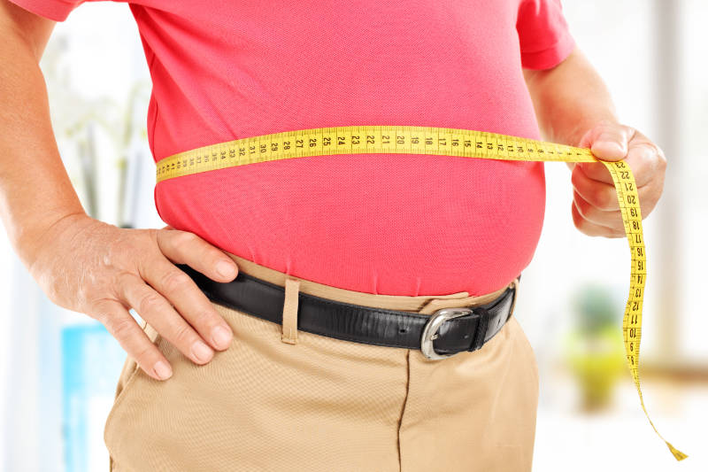 Control your weight to live a longer, healthier life.