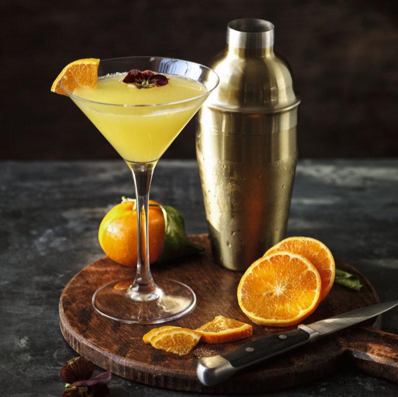Alchohol cocktails Breakfast Martini