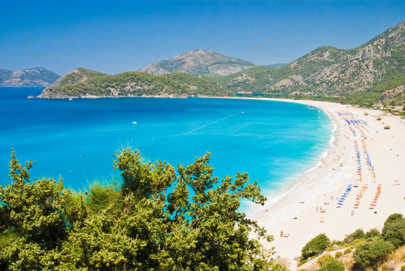 Oludeniz beach, Fethie, Turkey. Check out other photos from Turkey