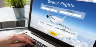 Bargain holiday booking flight travel traveler search ticket reservation holiday