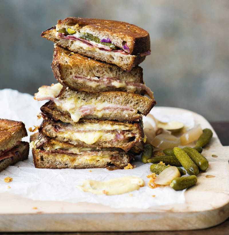 Cheese and Ham toast