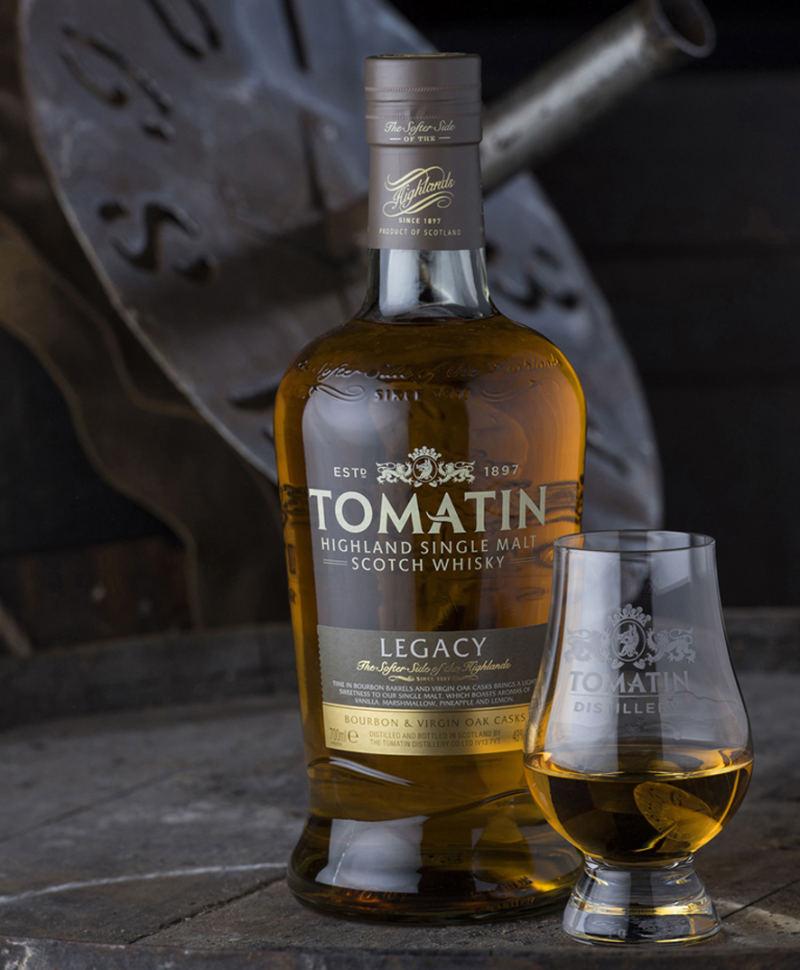 Burns night whisky Tomatin Legacy Bourbon & Virgin Oak Highland Single Malt
