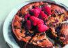 Chocolate chip, raspberry & almond cake (Izy Hossack/PA)
