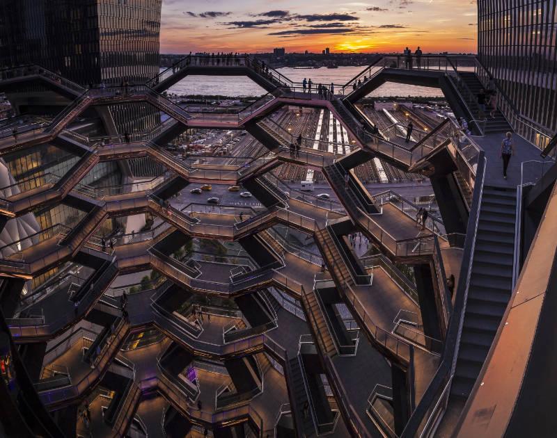 Golden Hour photo New York