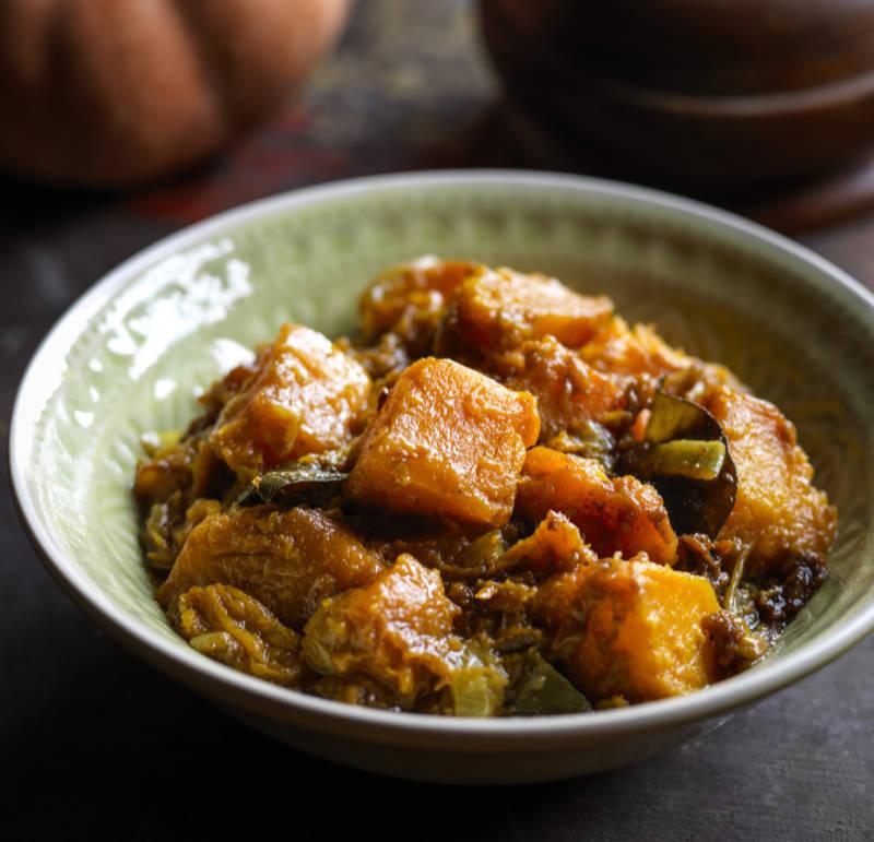 Golden pumpkin curry from Mandalay by MiMi Aye (Cristian Barnett/PA)