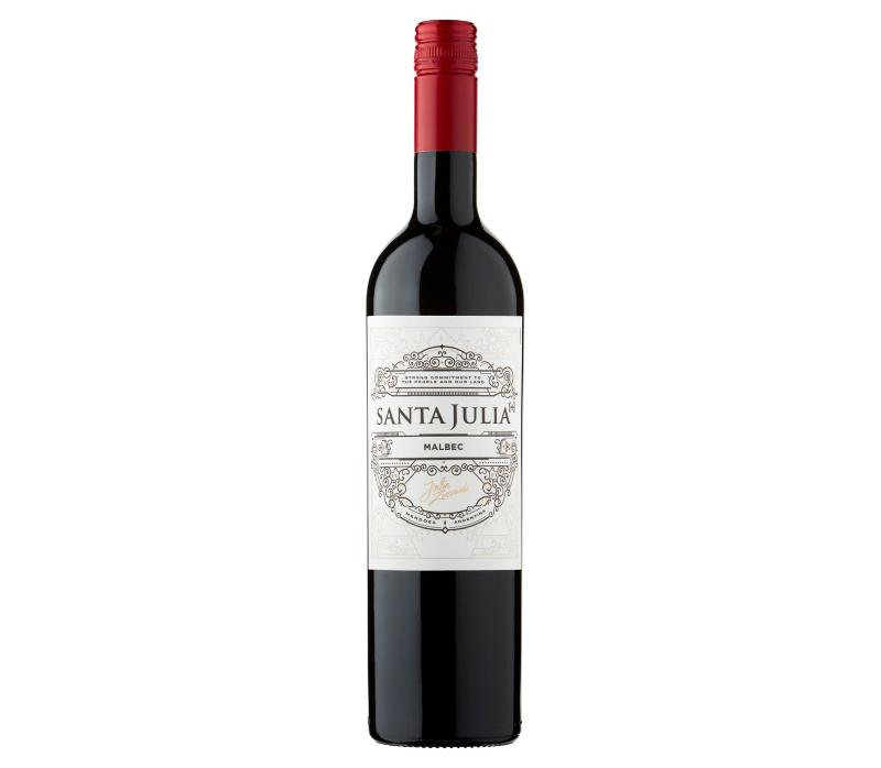 Great value wines Santa Julia Malbec 2019