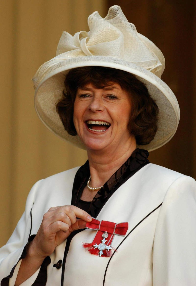 Pam Ayres MBE