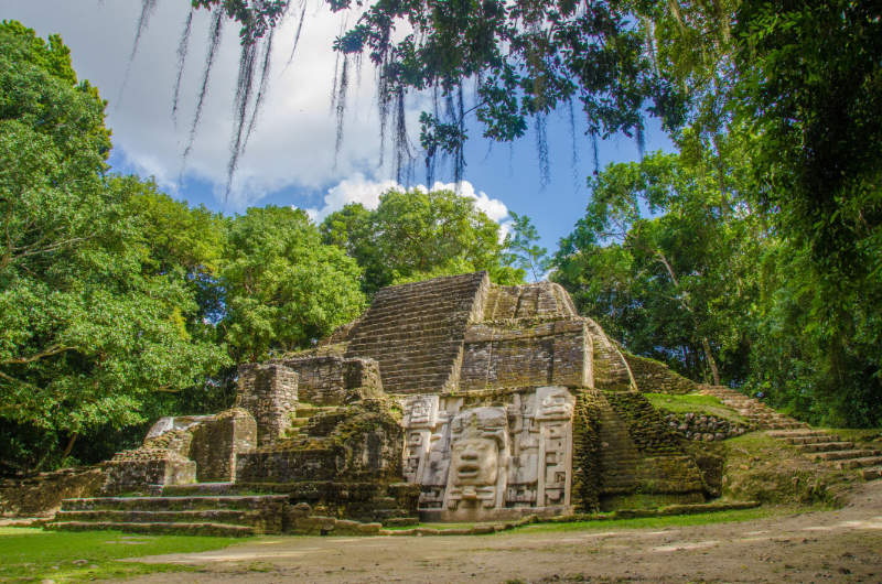 Travel trends 2020 Belize Deep in the forest of Belize ancient ruins of the Mayas