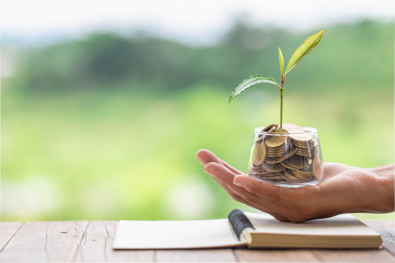 Active or passive investments - active investments usually involve a fund manager picking investments to grow your money.
