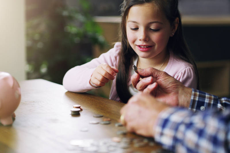 Giving money to grandchildren can help get them off to a great start financially.
