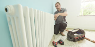 How to hang a radiator installation guide