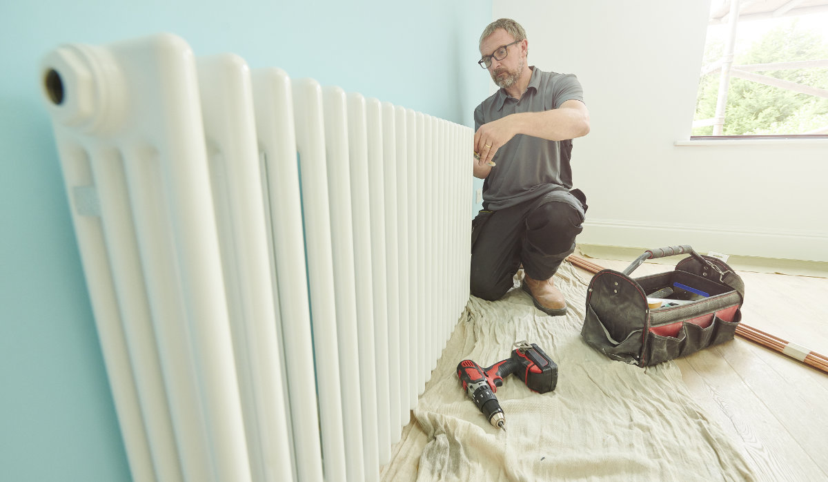 How To Hang A Radiator Installation Guide Wise Living Magazine