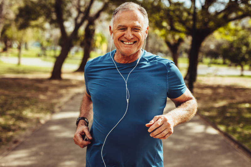 Keep fit over 50 to maintain a healthy weight