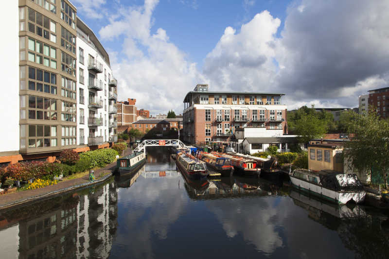 Narrow boat holidays on the Worcester & Birmingham Canal