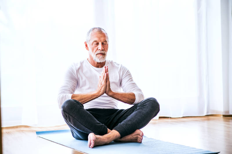 Yoga can be an effective way to support giving up smoking.