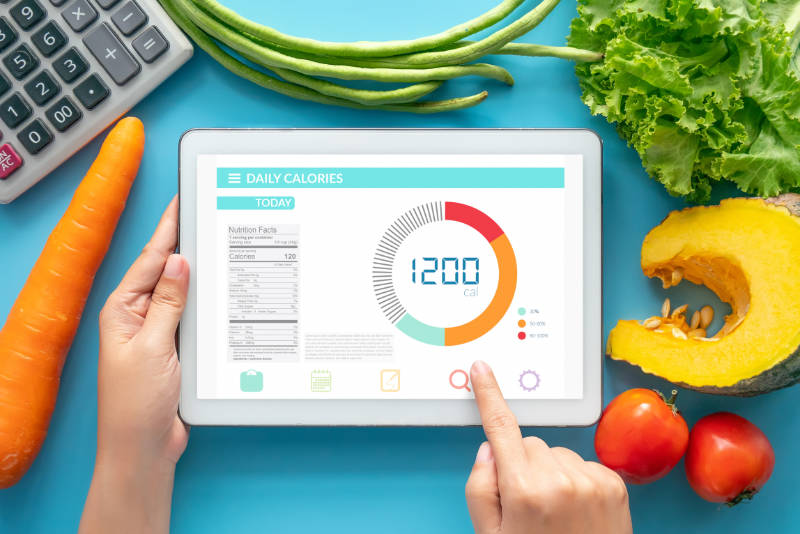 Calorie counting is a key part of the process