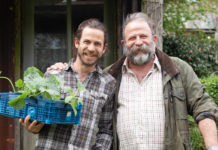 James and Dick Strawbridge (right) know a lot about self-sufficiency (DK Images/PA)