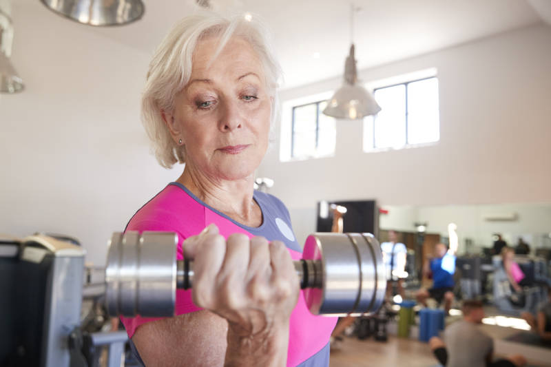 Why building muscle is important for seniors and women even more so.