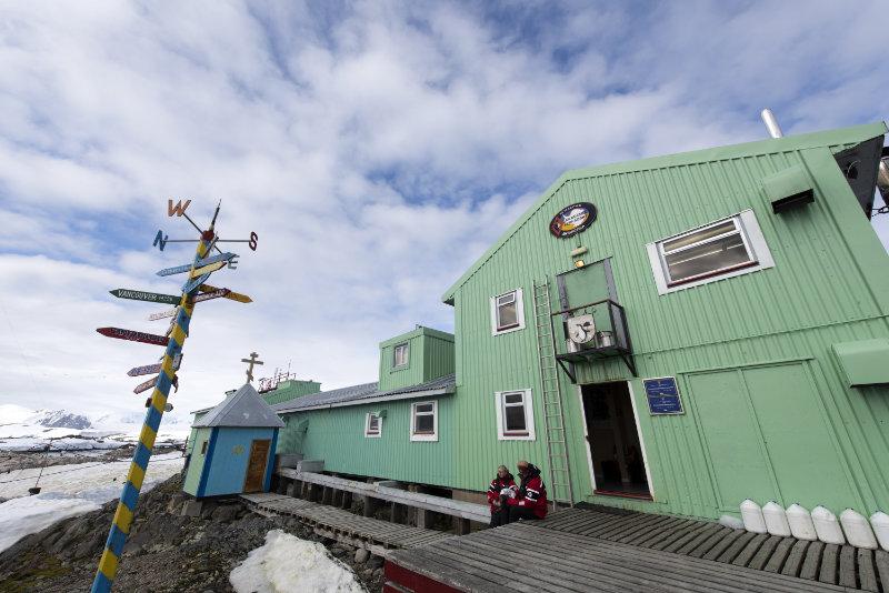 Vernadsky Station Antarctica (Renato Granieri/PA)