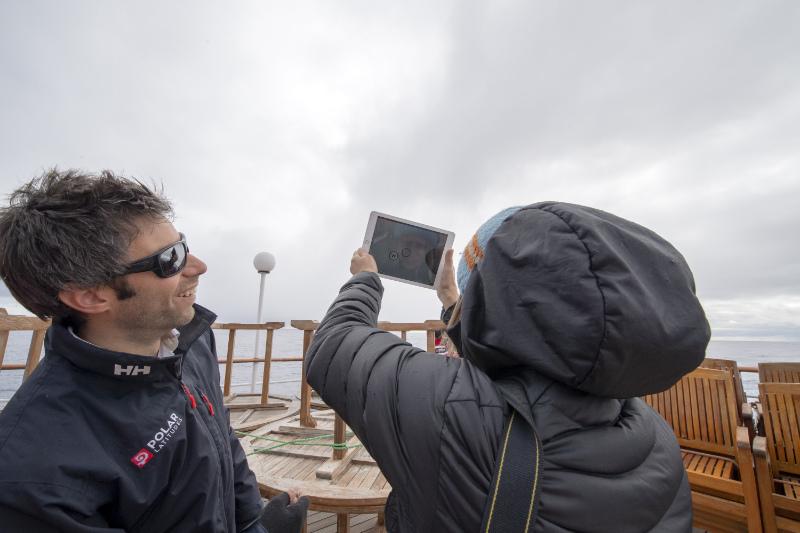 Cloud observation on Hebridean Sky (Renato Granieri/PA)