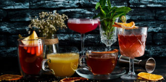 Selection of winter cocktails (iStock/PA)