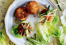 Vietnamese crab cakes (Lizzie Mayson/PA)