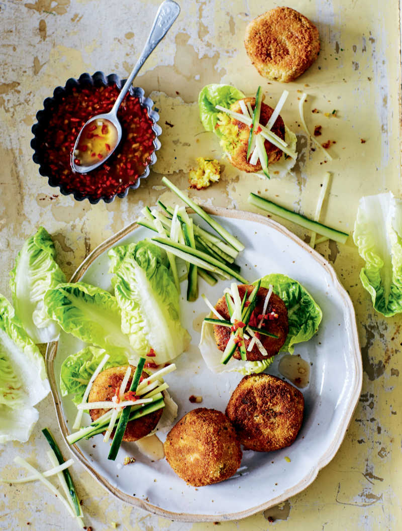 Vietnamese crab cakes (Lizzie Mayson/PA)
