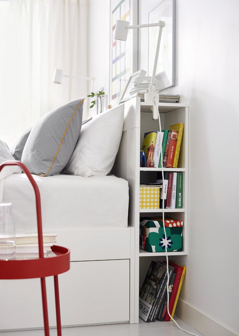 Brimnes Headboard Standard Double, £100, Ikea (IKEA/PA)