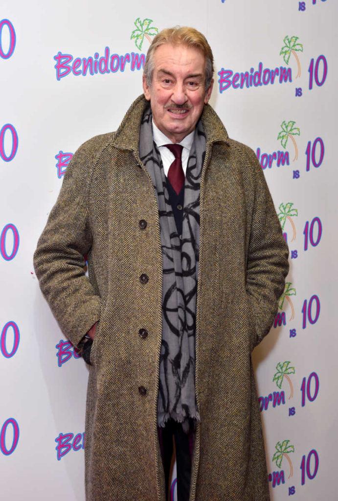 John Challis who starred as Monty Staines in ITV's Benidorm (Matt Crossick/PA Wire)