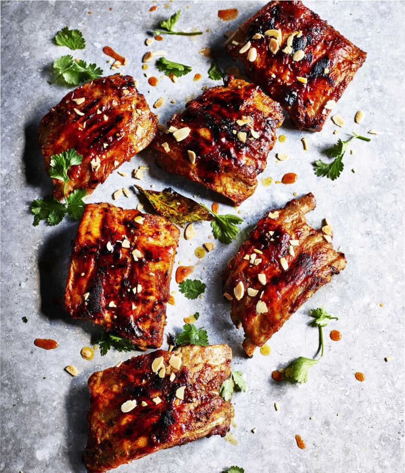 pork ribs from Moorish by Ben Tish (Kris Kirkham/PA)