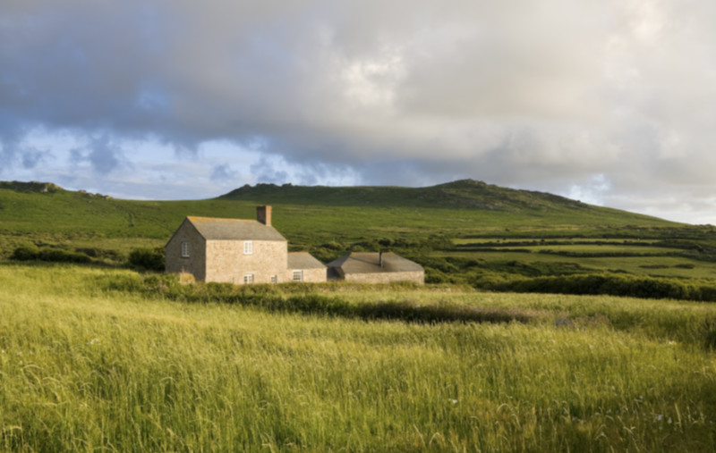 Renting your home country farm house in Cornwall, England