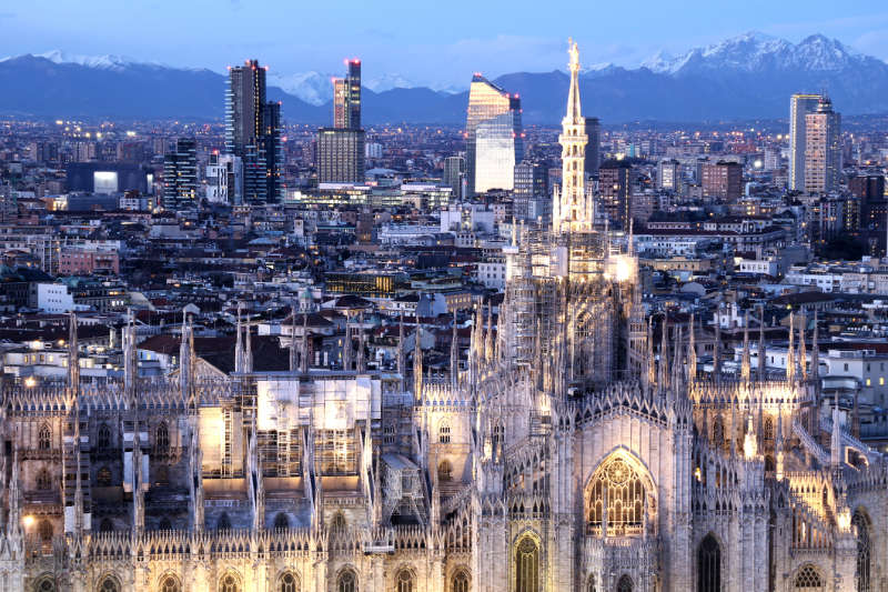 Milan has also introduced measures (iStock/PA)
