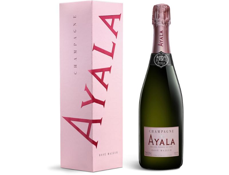 Ayala Rosé Majeur NV, France