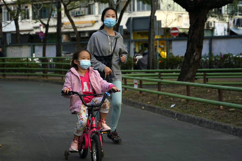 Face masks aren't necessarily the best way to protect yourself from coronavirus (Kin Cheung/AP)