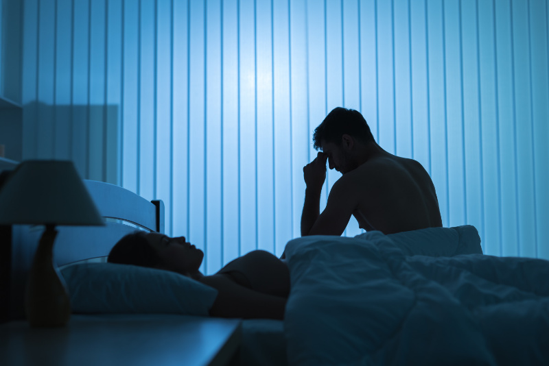 Don't worry about having a bad night's sleep is it doesn't happen regularly (iStock/PA)