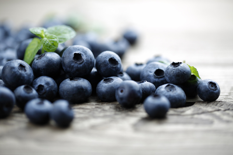 Blueberries are a well-known superfood that may help brain health.