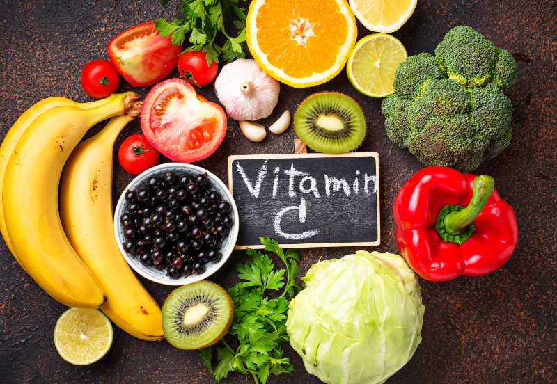 Vitamin C can help reduce iron deficiency.