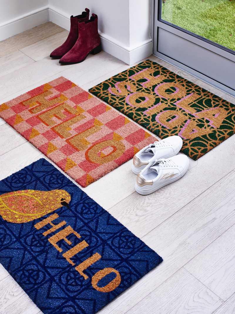 Get rid of allergens in your home double up doormats