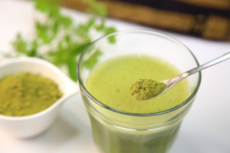 Kickstart your day with moringa tea
