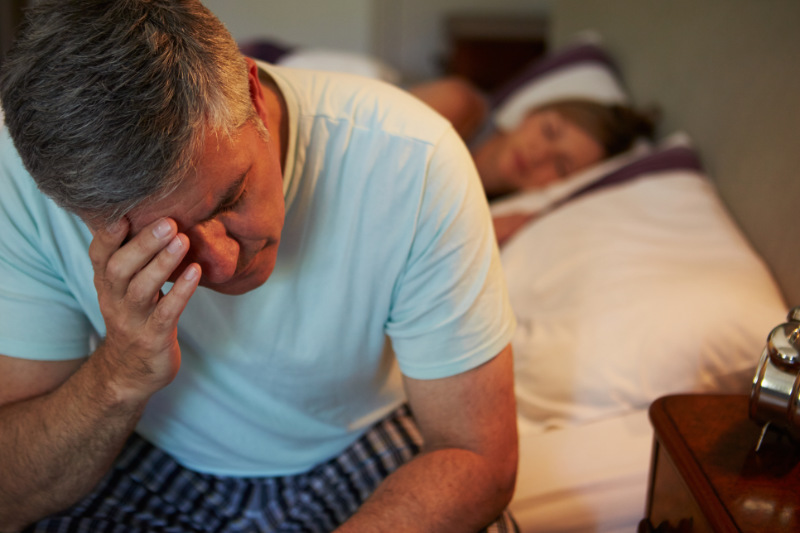 Sleeping in separate beds as a couple can help improve sleep quality