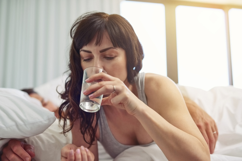 Why lack of sleep is bad for your health - stay hydrated