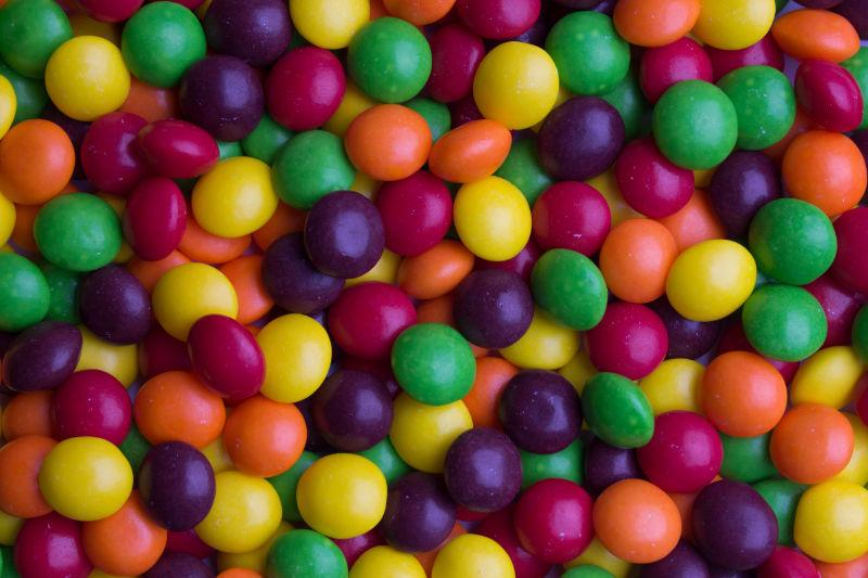 What snack foods are vegan - Skittles!