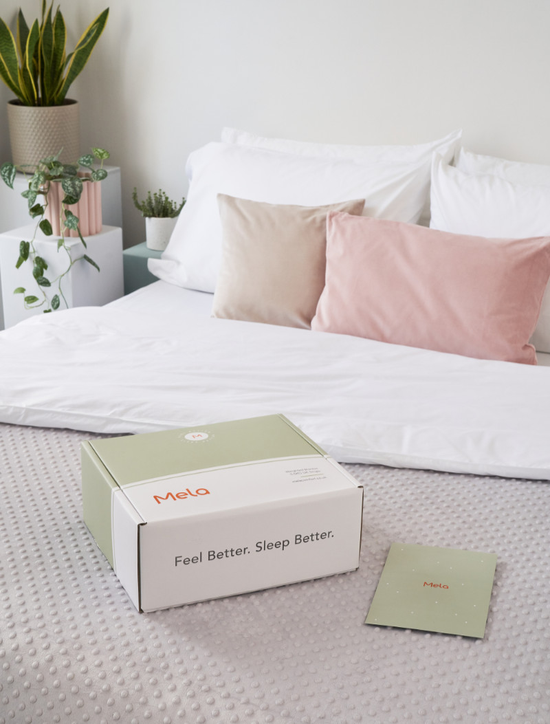 The Mela weighted blanket