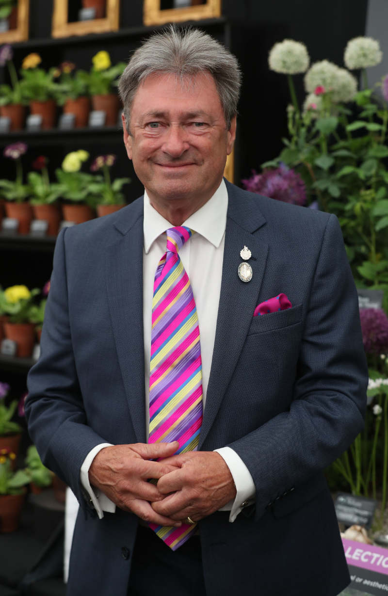 Alan Titchmarsh at Chelsea Flower Show 2018