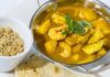 Chicken, prawn and mango curry features in Eating My Way Back To Health by Louise and Richard Blanchfield (Mark Alexander Photography/PA)