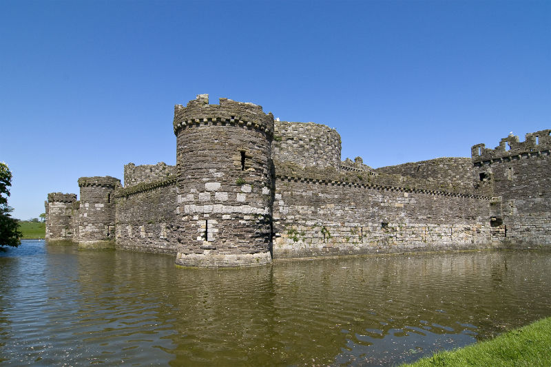 Beaumaris Castle – Ancient Castle on Anglesey in North Wales