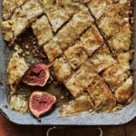 Honey pastries with baked figs from ANDALUSIA by Jose Pizarro (Emma Lee/PA)