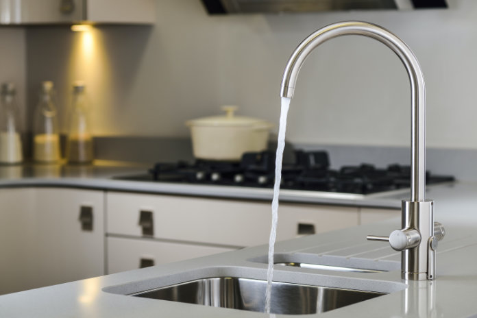The Abode boiling water taps featured within the range at Benchmarx Kitchens start from around £709 (Benchmarx Kitchens/PA)